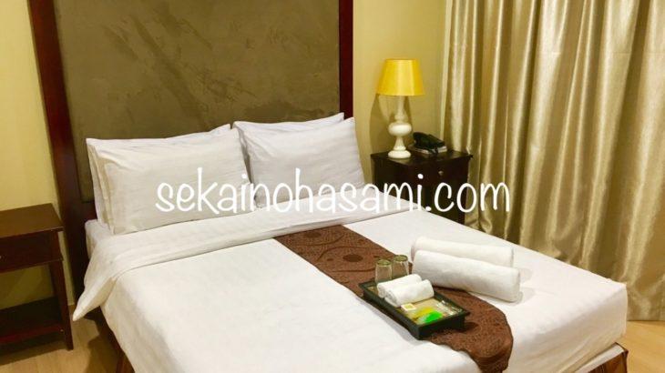 アレンジ自由な送迎ツアー付き!ブルネイで泊まったホテル【ザ キャピタル レジデンス スイーツ】